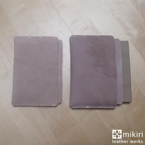 B6サイズ母子手帳ケース試作1号、2号