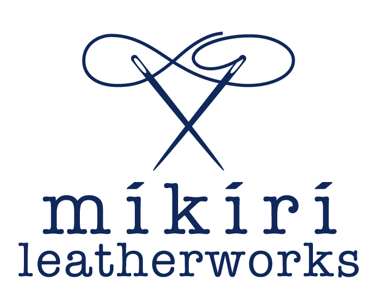 mikiri leather works ロゴ